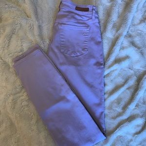 Articles of Society lilac jeans from Nordstrom
